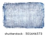 Faded Blue Linen Burlap Or...