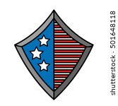 united states of america shield ... | Shutterstock .eps vector #501648118