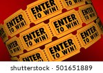 enter to win tickets contest... | Shutterstock . vector #501651889