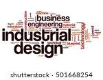 industrial design word cloud... | Shutterstock . vector #501668254