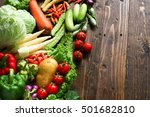 include fresh organic... | Shutterstock . vector #501682810