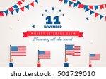 Happy Veterans Day Flyer ...