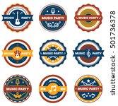 music logo | Shutterstock .eps vector #501736378
