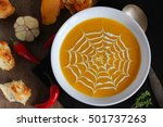 Fresh Pumpkin Soup With A...