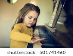 Adorable Cute Girl Playing...