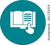read book | Shutterstock .eps vector #501753319