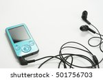 mp3 player with white background | Shutterstock . vector #501756703