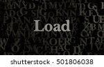 load   3d rendered metallic...   Shutterstock . vector #501806038