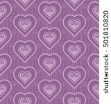 violet vector pattern with... | Shutterstock .eps vector #501810820