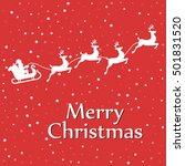 Santa Sleigh Reindeer...