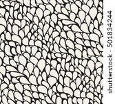 vector seamless pattern. modern ... | Shutterstock .eps vector #501834244