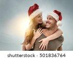 Christmas Warm Weather Couple