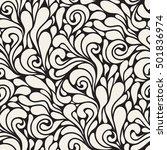 vector seamless pattern. modern ... | Shutterstock .eps vector #501836974