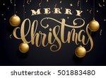 vector illustration of merry... | Shutterstock .eps vector #501883480