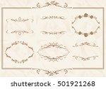 frame set vector    Shutterstock .eps vector #501921268