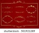frame set vector    Shutterstock .eps vector #501921289