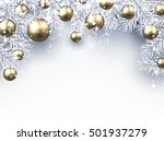 new year background with... | Shutterstock .eps vector #501937279