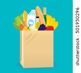 vector illustration of shopping ... | Shutterstock .eps vector #501950296