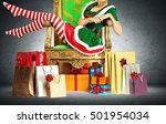 Elf Woman Legs And Christmas...