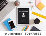 qualifications concept   Shutterstock . vector #501970588
