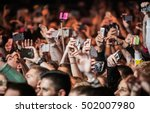 moscow 20 october 2016 crowded... | Shutterstock . vector #502007980