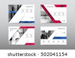 brochure layout template flyer... | Shutterstock .eps vector #502041154