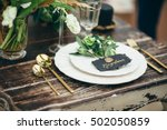 Wedding Decor  Flowers  Black...