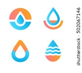 drop logo.water icon | Shutterstock .eps vector #502067146