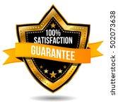 100  satisfaction guarantee icon   Shutterstock .eps vector #502073638