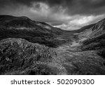 nant ffrancon valley  snowdonia ...