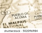 Small photo of Pueble of Acoma. New Mexico. USA.