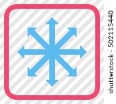 expand arrows pink and blue...   Shutterstock .eps vector #502115440