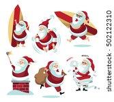 Cartoon Santa Claus Collection...