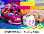 day of the dead celebration | Shutterstock . vector #502125508