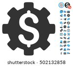 development cost pictograph... | Shutterstock .eps vector #502132858