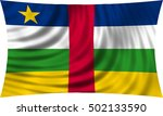 central africa national... | Shutterstock . vector #502133590