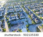 aerial typical multi level... | Shutterstock . vector #502135330