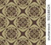 seamless vector pattern design... | Shutterstock .eps vector #502188124