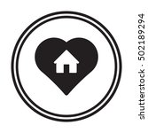 home  icon. | Shutterstock .eps vector #502189294