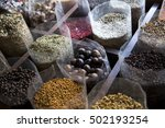 spices on display in dubai... | Shutterstock . vector #502193254