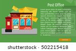 Post Office Conceptual Banner