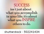inspirational motivational life ... | Shutterstock . vector #502241434