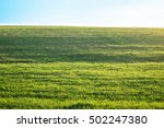 outdoor countryside meadow... | Shutterstock . vector #502247380