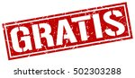 gratis. grunge vintage gratis... | Shutterstock .eps vector #502303288