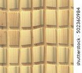 3d wooden pattern  seamless | Shutterstock . vector #502360984
