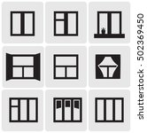 windows vector icons | Shutterstock .eps vector #502369450