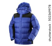 down jacket | Shutterstock . vector #502369978