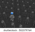 Small Robotic Figures  3d...