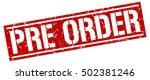 pre order. grunge vintage pre... | Shutterstock .eps vector #502381246