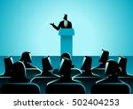 business concept illustration... | Shutterstock .eps vector #502404253